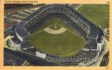 spo023759 - Yankee Stadium, Bronx, New York City, USA Baseball Stadium Postcard, Post Card