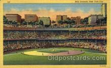 spo023760 - Polo Grounds, New York City, USA Baseball Stadium Postcard, Post Card