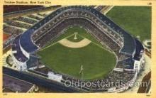 spo023767 - Yankee Stadium, Bronx, New York City, USA Baseball Stadium Postcard, Post Card