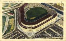 spo023768 - Yankee Stadium, Bronx, New York City, USA Baseball Stadium Postcard, Post Card