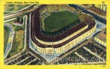 spo023769 - Yankee Stadium, Bronx, New York City, USA Baseball Stadium Postcard, Post Card