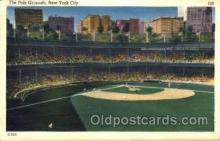 spo023770 - Polo Grounds, New York City, USA Baseball Stadium Postcard, Post Card