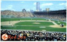 spo023772 - The Red Sox, Boston, Massachusetts, USA Baseball Stadium Postcard, Post Card