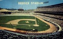 spo023773 - Dodger Stadium, Los Angeles, California, USA Baseball Stadium Postcard, Post Card