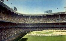 spo023775 - Yankee Stadium, Bronx, New York City, USA Baseball Stadium Postcard, Post Card