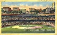 spo023776 - Polo Grounds, New York City, USA Baseball Stadium Postcard, Post Card