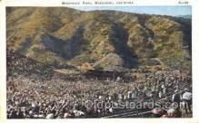 spo023781 - Hollywood Bowl, Hollywood, California, USA Base Ball Stadium Postcards, Post Card