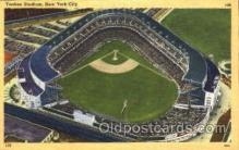 spo023784 - Yankee Stadium, Bronx, New York City, USA Base Ball Stadium Postcards, Post Card