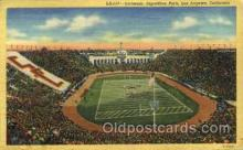 spo023787 - Coliseum, Exposition Park, Los Angeles, California, USA Base Ball Stadium Postcards, Post Card