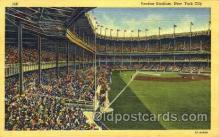 spo023789 - Yankee Stadium, Bronx, New York City, USA Base Ball Stadium Postcards, Post Card