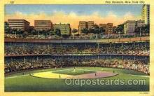 spo023790 - Polo Grounds, New York City, USA Base Ball Stadium Postcards, Post Card