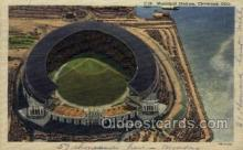 Municipal Stadium Clevel& Ohio USA