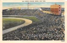 Yankee Stadium Baseball Stadium Postcard Post Card