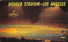 Dodger Stadium Baseball Stadium Postcard Post Card