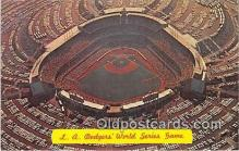 La Dodgers Baseball Stadium Postcard Post Card