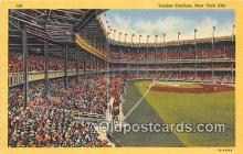 spo023830 - Baseball Stadium Postcard