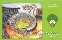 spo023833 - Baseball Stadium Postcard