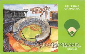 Municipal Stadium Cleveland