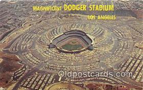 spo023841 - Baseball Stadium Postcard