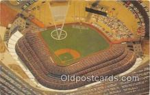 spo023847 - Baseball Stadium Postcard