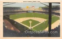 spo023852 - Baseball Stadium Postcard