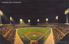 spo023A005 - Comiskey park, Chicago, Ill,USA, home of White Sox, Base Ball,  Baseball Stadium, Postcard