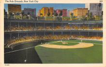 spo023A009 - New York Giants, Polo Grounds, USA, Base Ball,  Baseball Stadium, Postcard