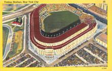 spo023A011 - New York Yankess, USA, Base Ball,  Baseball Stadium, Postcard