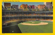 spo023A013 - New York Giants, Polo Grounds, USA, Base Ball,  Baseball Stadium, Postcard