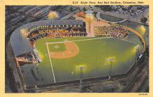 spo023A019 - Red Bird Stadium postcard