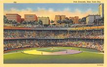 spo023A041 - Polo Grounds, New York City, NY, USA Baseball Stadiums, Base Ball Stadium, Postcard