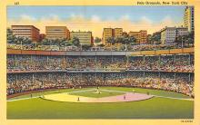 spo023A043 - Polo Grounds, New York City, NY, USA Baseball Stadiums, Base Ball Stadium, Postcard
