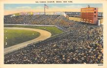 spo023A045 - Yankee Stadium, Bronx, New York, USA, Baseball, Base Ball Stadium Postcard