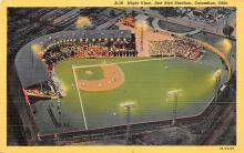 spo023A047 - Red Bird Stadium, Columbus, Ohio, USA, Baseball, Base Ball Stadium Postcard