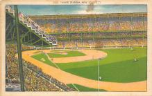 spo023A053 - Yankee Stadium, Bronx, New York, USA, Baseball, Base Ball Stadium Postcard