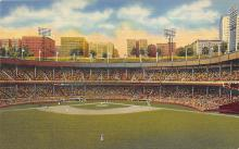 spo023A055 - Polo Grounds, New York City, Home of the NY Giants Baseball Team, Base Ball Stadium Postcard