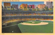 spo023A057 - Polo Grounds, New York City, Home of the NY Giants Baseball Team, Base Ball Stadium Postcard