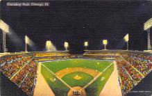spo023A065 - Comiskey Park, Chicago, Illinois, USA, Baseball, Base Ball Stadium Postcard