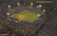 spo023A069 - Comiskey Park, Chicago, Illinois, USA, Baseball, Base Ball Stadium Postcard