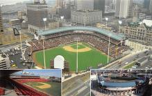 spo023A073 - Pilot Field, Buffalo, NY, USA Baseball Stadiums, Base Ball Stadium, Postcard
