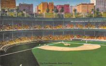 spo023A083 - The Polo Grounds, New York City, USA Baseball Stadium Postcard