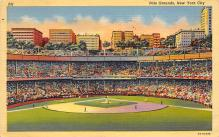 spo023A085 - Polo Grounds, Home of New York Giants, New York City, USA Baseball Stadium Postcard