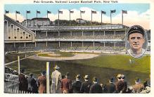 spo023A095 - Polo Grounds, Home of New York Giants, New York City, USA Baseball Stadium Postcard