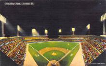 spo023A103 - Comiskey Park, White Sox, Chicago Ill, USA, Baseball Stadium Postcard