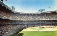 spo023A113 - Yankee Stadium, Bronx, NY, USA Baseball Stadiums, Base Ball Stadium, Postcard