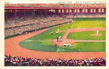 spo023A121 - Comiskey Park, Chicago Ill. USA Home of the White Sox Chicago, Illinois Base Ball Baseball Stadium  Post Card