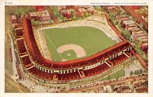 spo023A125 - Wrigley Field, Chicago, Ill. USA Home of the Chicago Cubs Chicago, Illinois Baseball Stadium  Post Card