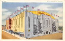 spo023A129 - Chicago Stadium, Ill, USA Chicago, Illinios Base Ball Baseball Stadium  Post Card
