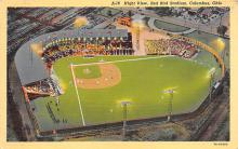 spo023A157 - Coumbus OH, USA Red Bird Stadium, Ohio Base Ball Baseball Stadium  Post Card