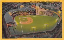 spo023A159 - Red Bird Stadium Columbus, Ohio Base Ball Baseball Stadium  Post Card